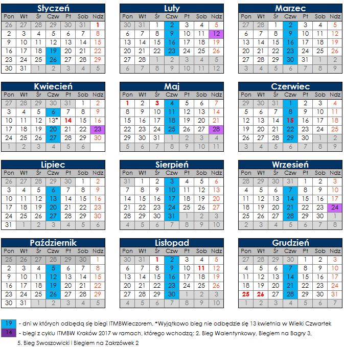 ITMBWieczorem2017 - harmonogram