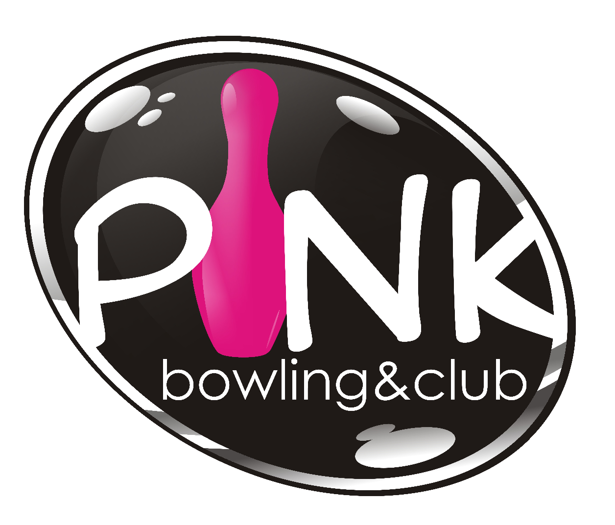 Logo Pink Bowling Club