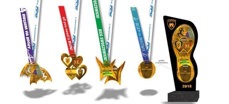 Biegaj z nami i zdobądź medalową statuetkę