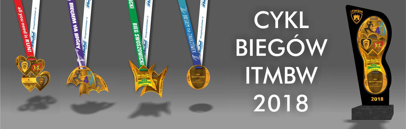 Cykl biegów 2018 statuetka
