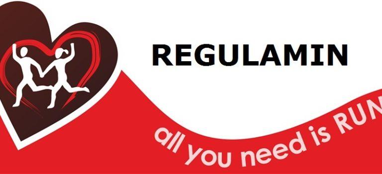 3. Bieg Walentynkowy – Regulamin