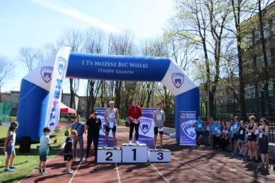 Zawody lekkoatletyczne w Krakowie