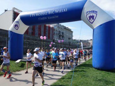 Punkt Dopingowy ITMBW na Cracovia Maraton
