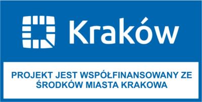 Baner Miasta Kraków - projekt współfinansowany ze środków Miasta Krakowa