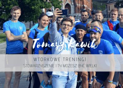 Treningi biegowe w Krakowie – wtorkowe treningi z Tomaszem Kawikiem