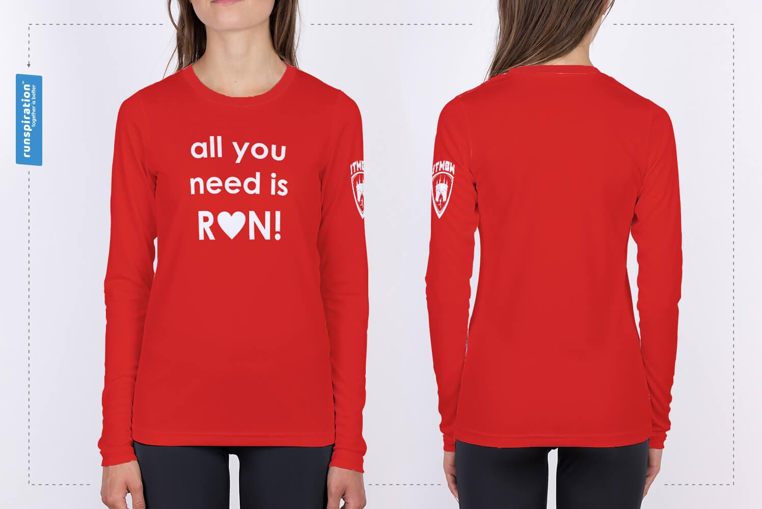 Koszulka Bieg Walentynkowy
